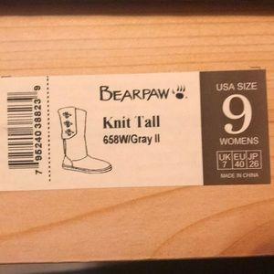 Bearpaw Knit Boots size 9